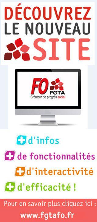 Le FGTA-FO Magazine Grande distribution n°3 est arrivé ! Telecharger le mag N°3 sur le site de la FGTA FO