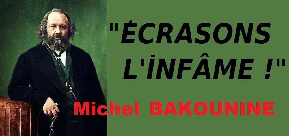 Le 1er juillet 1876, mort de Mikhaïl Aleksandrovitch BAKOUNINE
