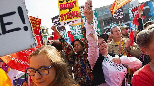 Les attaques contre le droit de grève « atteignent une dimension nouvelle et cela dans des pays que nous pensions définitivement épargnés