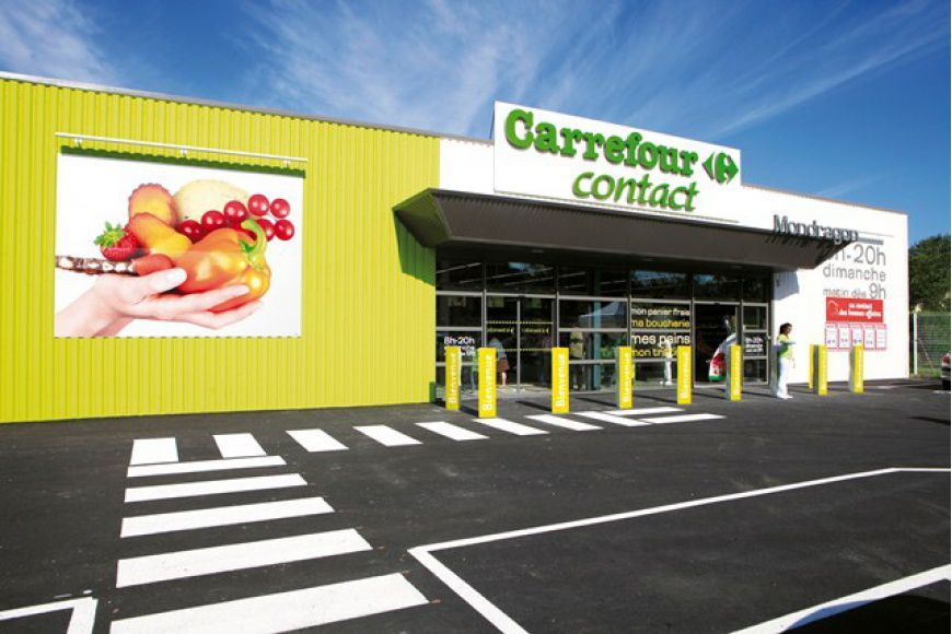 CARREFOUR FRANCE TESTE LE CONCEPT CONTACT MARCHÉ