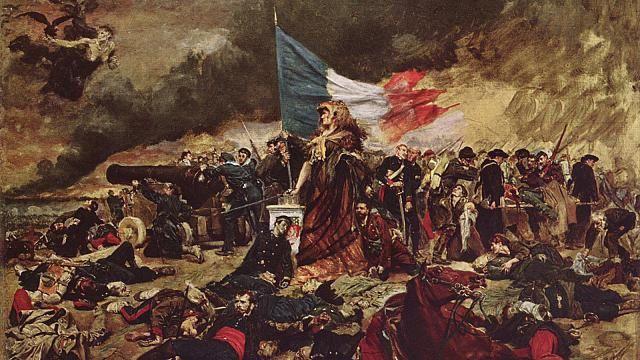 Le Printemps des peuples par Meissonier, 1870.