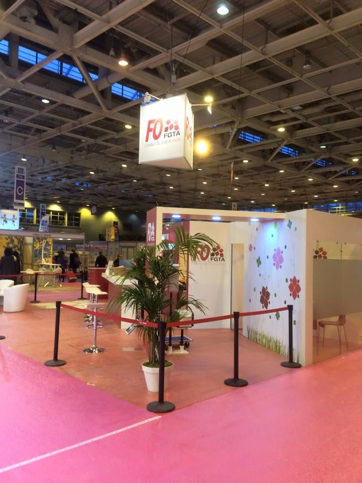 Notre stand, on vous y attend