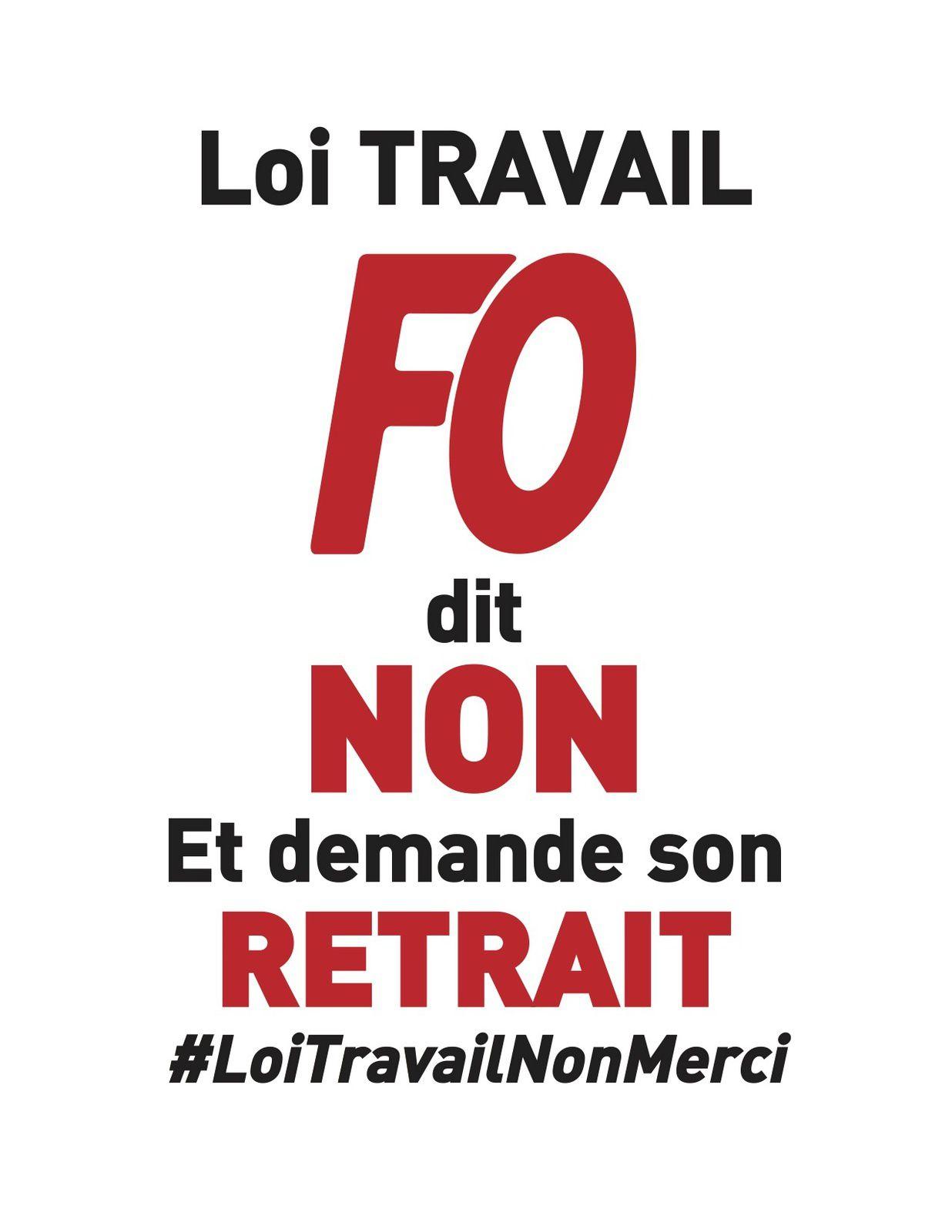La FGTA-FO hypermarchés Carrefour s'associe pleinement aux mouvements des 17, 24  et 31 mars