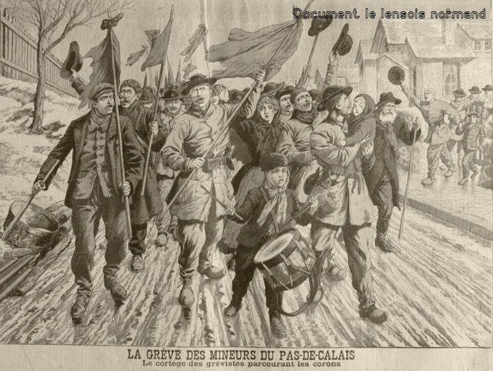constitution de la première centrale syndicale, la Confédération générale du Travail.