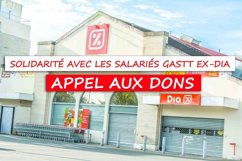 Solidarité avec les salariés GASTT ex-DIA : appel aux dons !