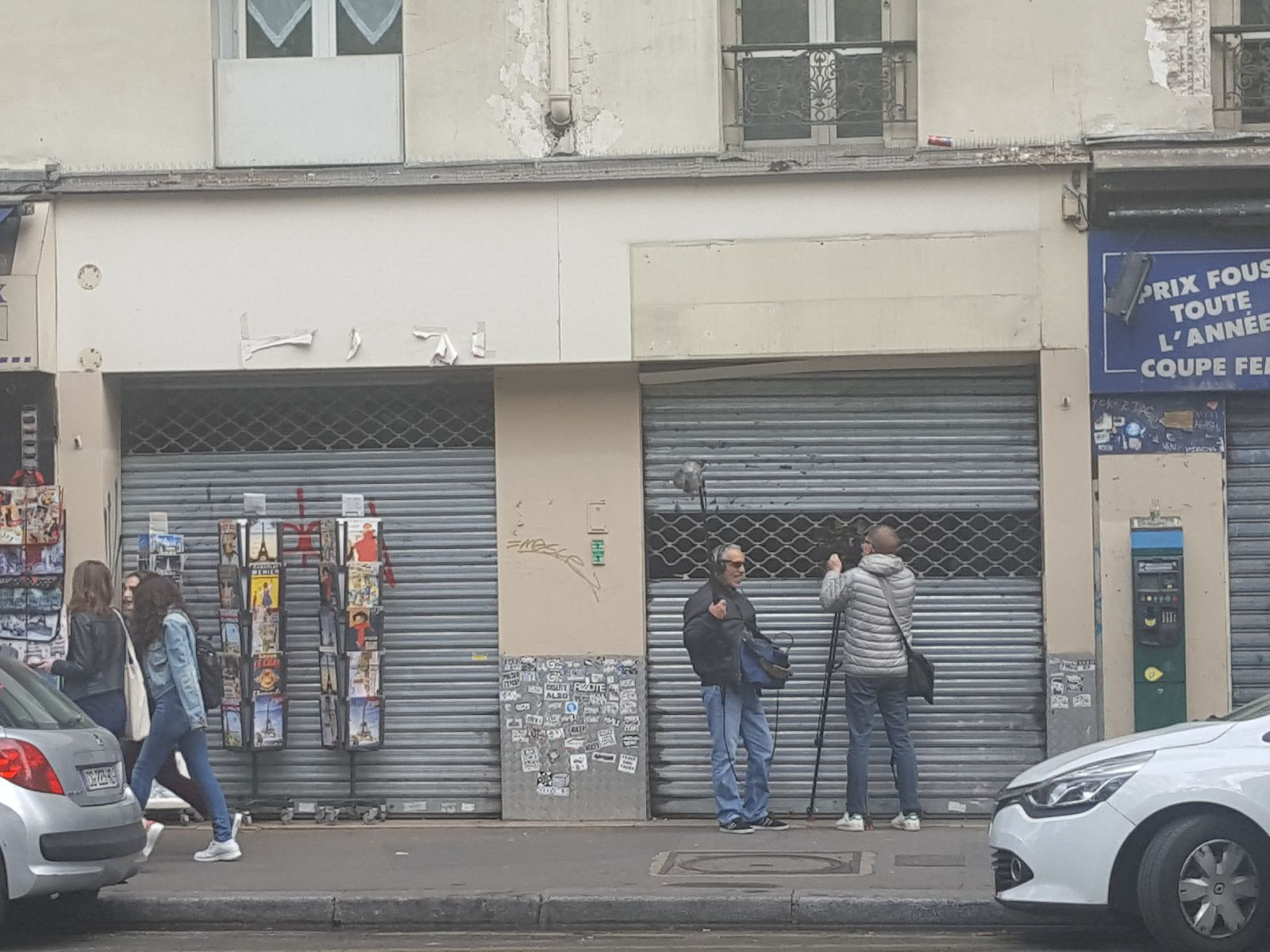 Magasin du Bd Clichy, Paris