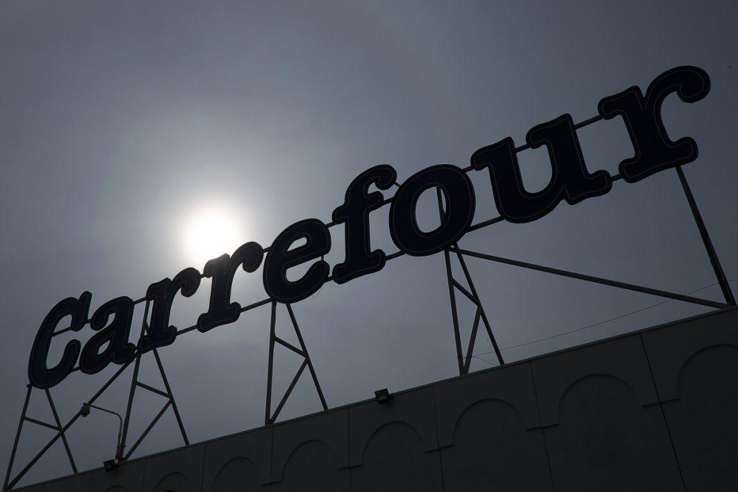 Carrefour aimerait pouvoir ouvrir ses magasins le dimanche matin. - Boris Horvat - AFP