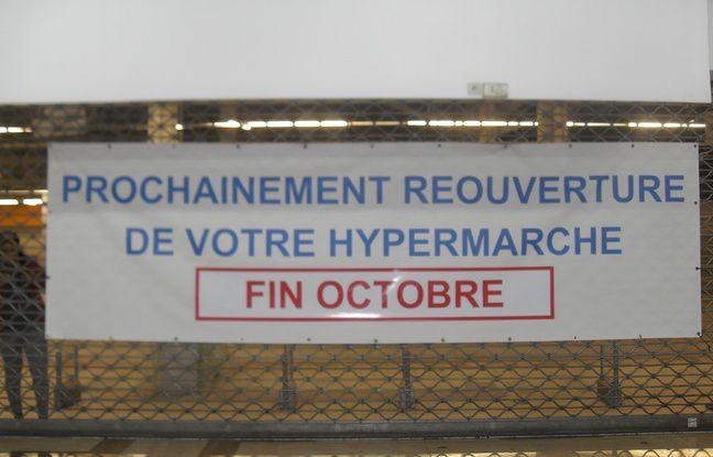 Sarcelles centre commercial Les Flanades, laissé à l'abandon avec ses 40 salariés, par le repreneur la société Segael