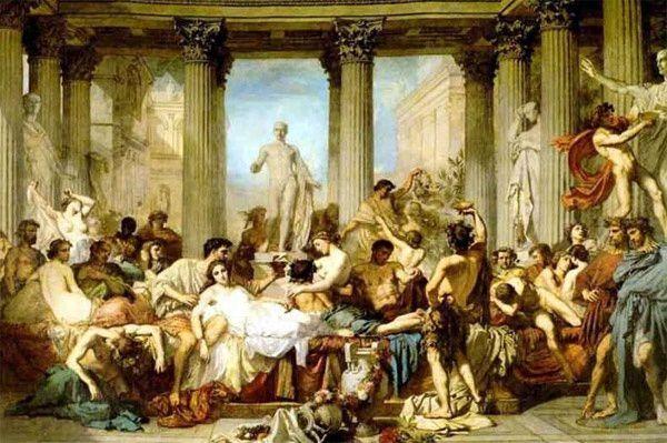 Dies NATALIS solis inuicti, pour  les Romains, Les Saturnales