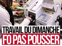 PROJET D'ORGANISATION DU TRAVAIL DU DIMANCHE...