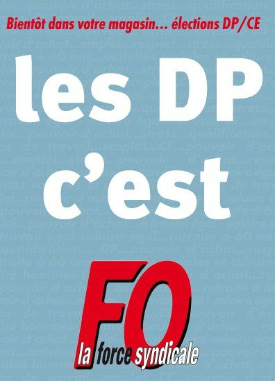 Les IRP c'est FO.  What else?