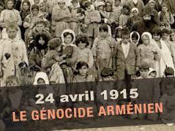 24 avril 1915    Début du génocide arménien     Début du génocide arménien, avec l'arrestation et l'assassinat de 600 notables à Constantinople.