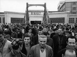 Grève à la régie Renault