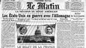 Les Etats-Unis déclarent la guerre à l'Allemagne