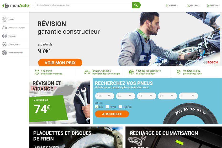 Carrefour s'est associé à Avatacar pour créer une offre e-commerce de prestations d'entretien auto.