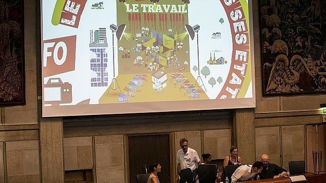 CESE 22 juin:  Colloque organisé par FO sur le thème le travail dans tous ses états