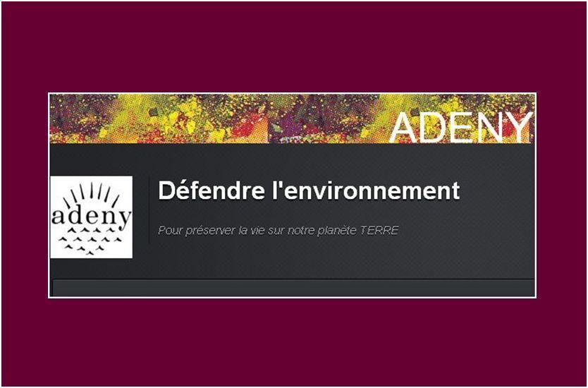 Présentation et lettre de l'ADENY DE NOVEMBRE 2013