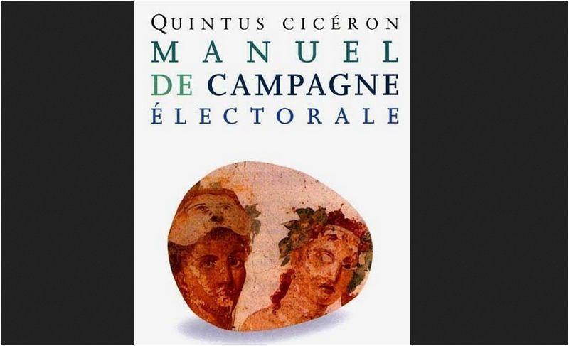 Théâtre salle Debussy - Joigny - 13 février à 20h30 - PETIT MANUEL DE CAMPAGNE ELECTORALE  de Tullius et Quintus Cicéron
