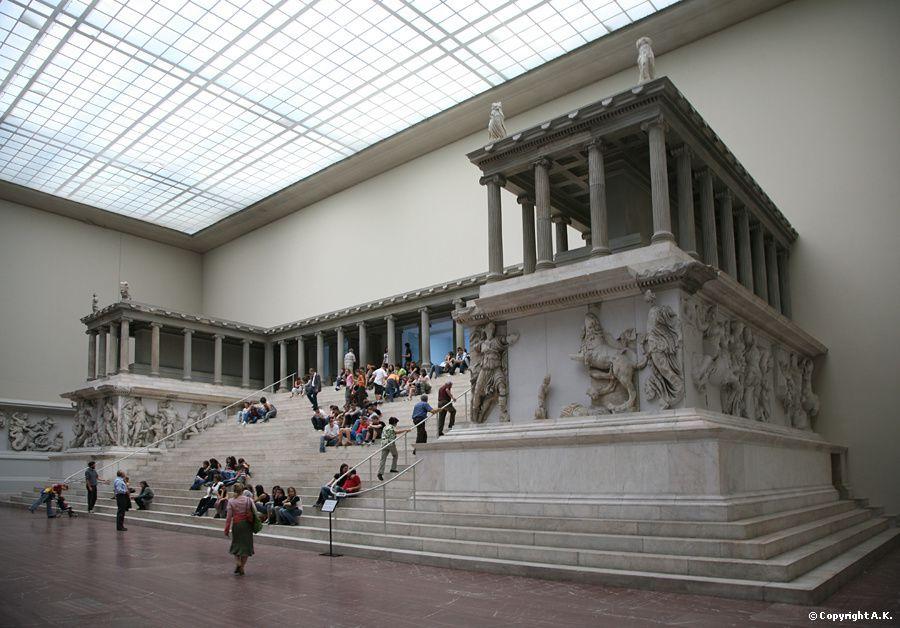 l'autel de Pergame - Grand autel de Zeus - (Asie Mineure),