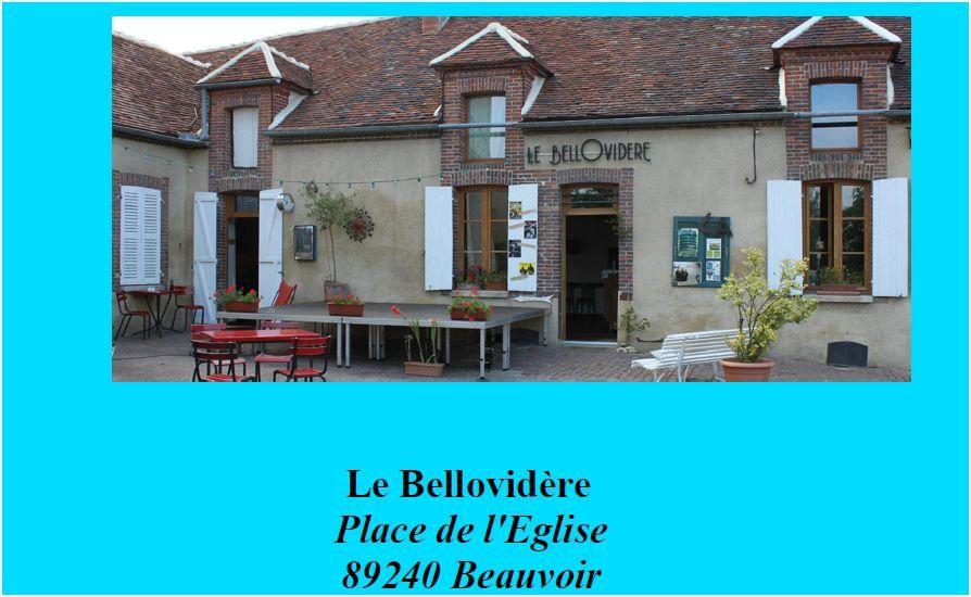 COMMUNIQUÉ DE PRESSE : BELLO D'ÉTÉ 2014 saison VII du 25 juillet au 16 août à Beauvoir