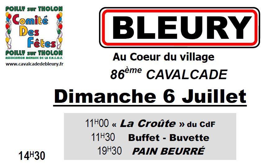 Cavalcade de Bleury - 6 juillet 2014