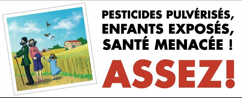 Mobilisation urgente (avant le 18 juillet) pour obtenir du Sénat une protection contre les pesticides