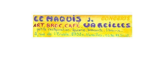 Le Maquis de Vareilles - Programme complet pour septembre.