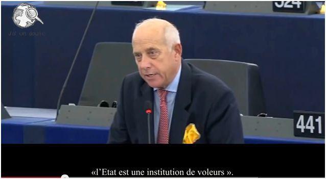 Les gens vont vous pendre et ils auront raison... (parlement européen, 21/11/2013) A NE PAS RATER - VIDEO DE 1mn 23