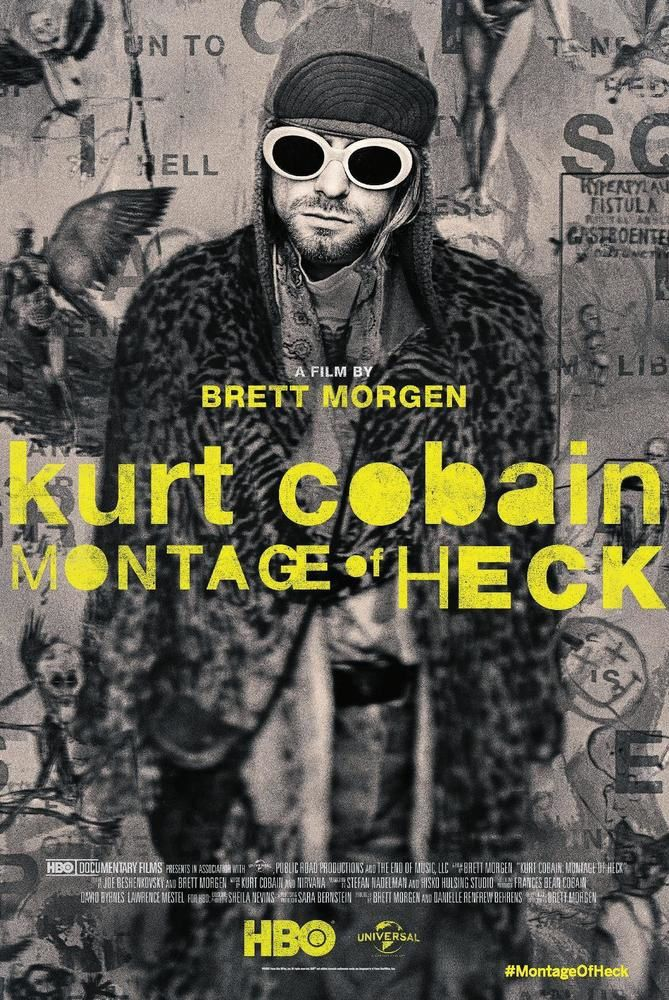 L'affiche du documentaire Montage of Heck