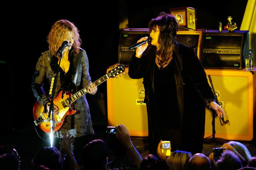 Ann et Nancy Wilson du groupe Heart en 2007