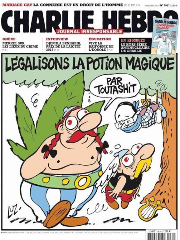 UNES célèbres de Charlie Hebdo