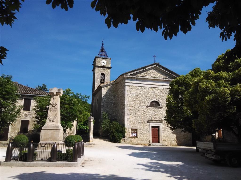 Petite balade à Montclus dans le Gard...