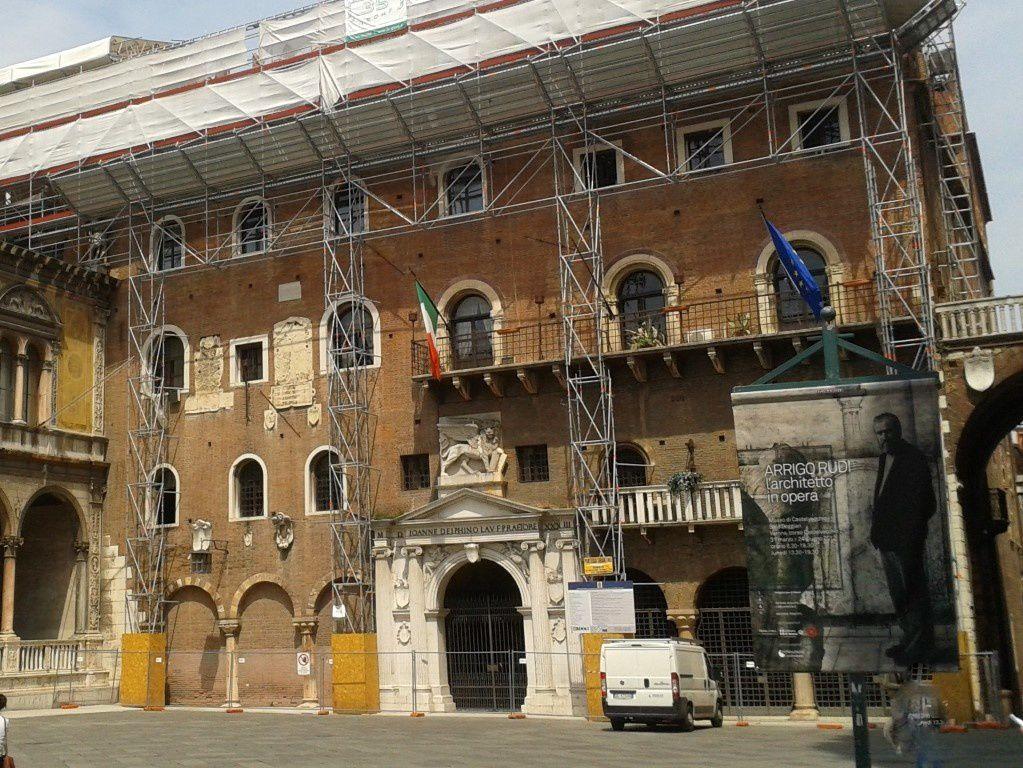 Voilà à quoi ressemblait le palais lors de ma visite !