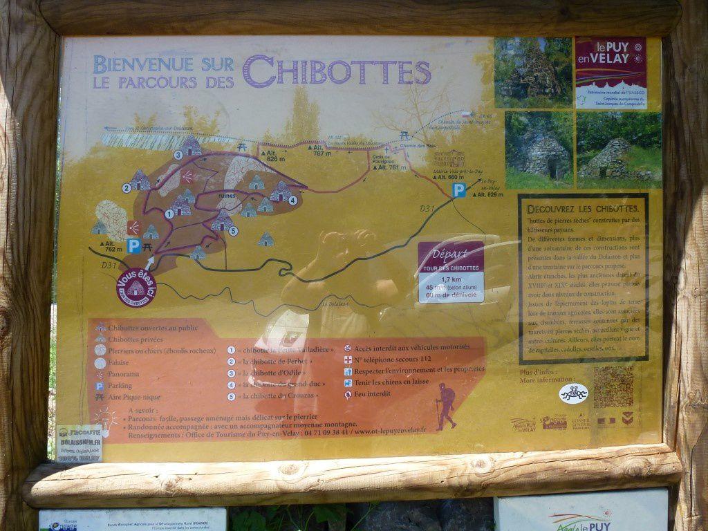 Autre Itinéraire conseillé au départ de la route entre Vals et Saint-Christophe...