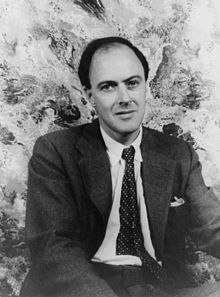 Roald Dahl en 1954 (photo wikipedia)