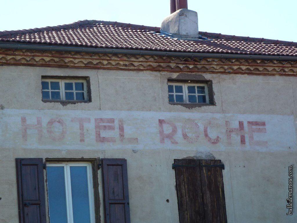 L'ancien hôtel du village...
