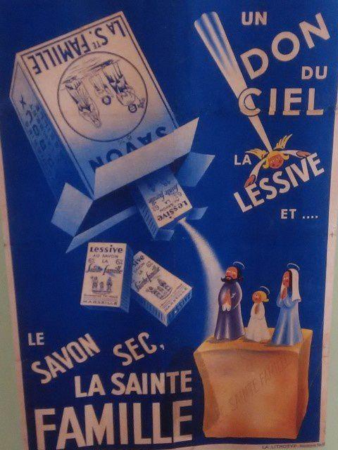 """Affiche publicitaire d""""époque"""