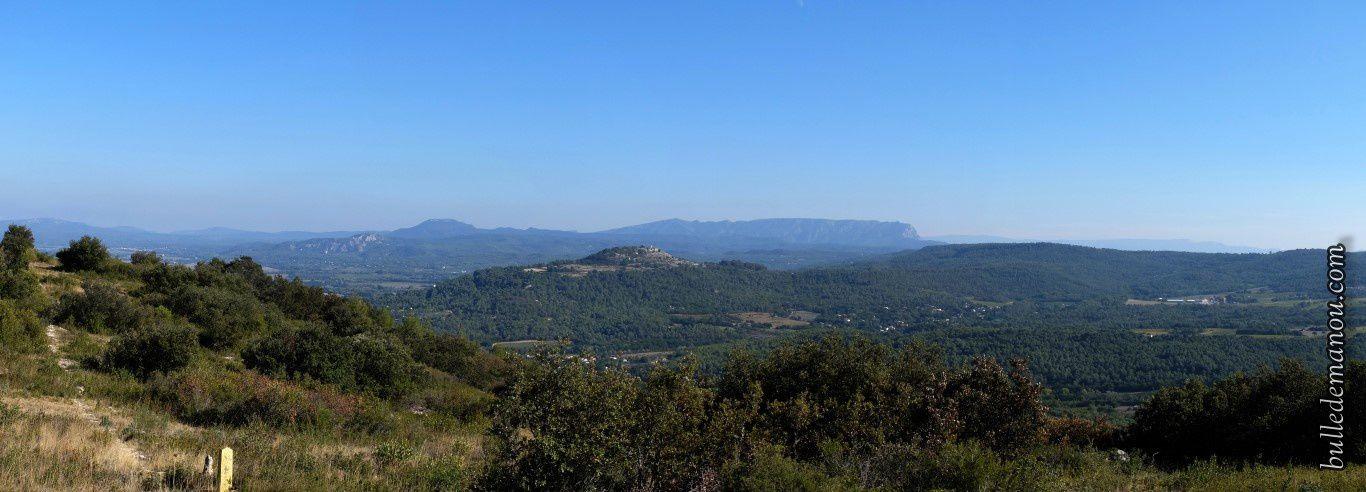 Un panorama sur la vallée...