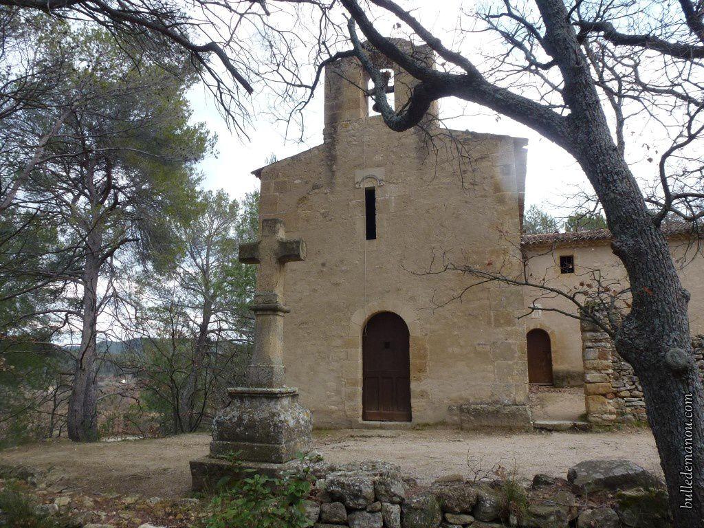 La Chapelle Saint-Marcellin / Balade autour de Rognes (dans le 13)
