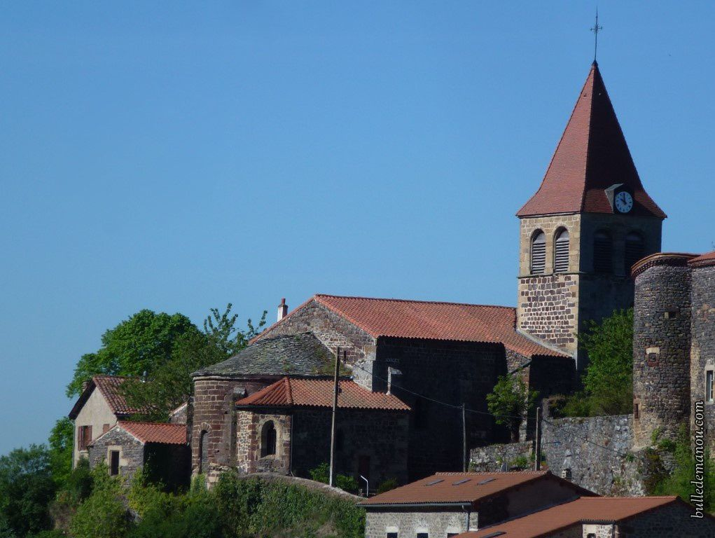 L'église de Saint-Privat d'Allier