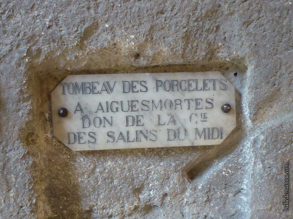 Le tombeau des Porcelets