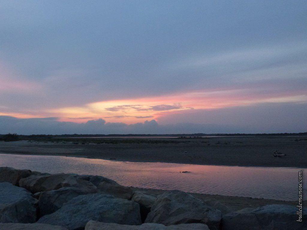 Le soleil se couche (je vous l'ai déjà montré celui-là !)