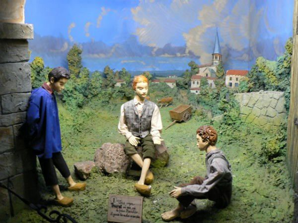 Un des tableaux du diorama de Saint-Benilde (photo internet)