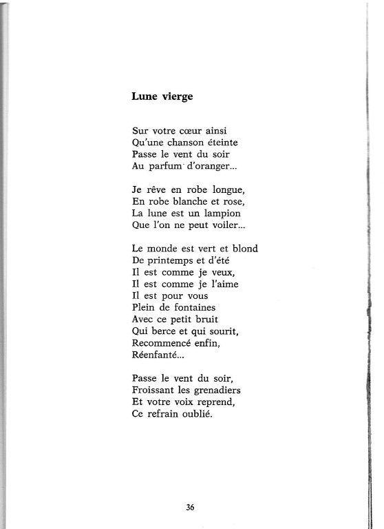 Poesie Dans La Bulle De Manou