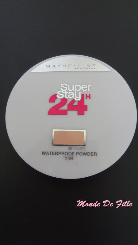 Poudre Superstay 24H de Gemey-Maybelline