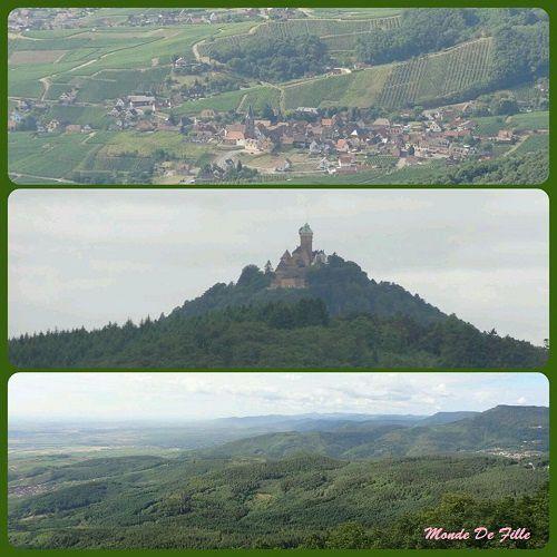Sur les routes d'Alsace