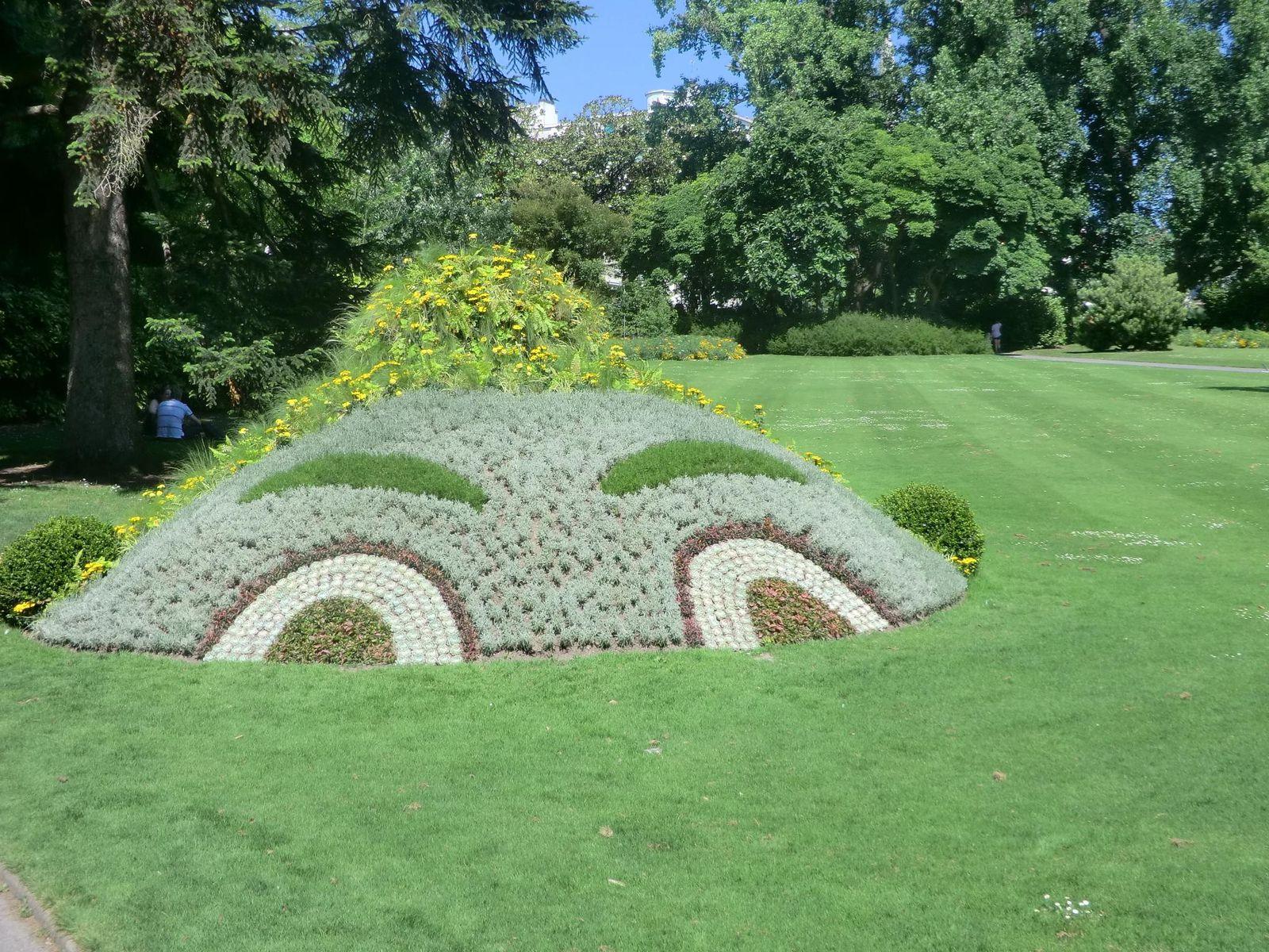 Le jardin des plantes à Nantes. - Le blog de ...