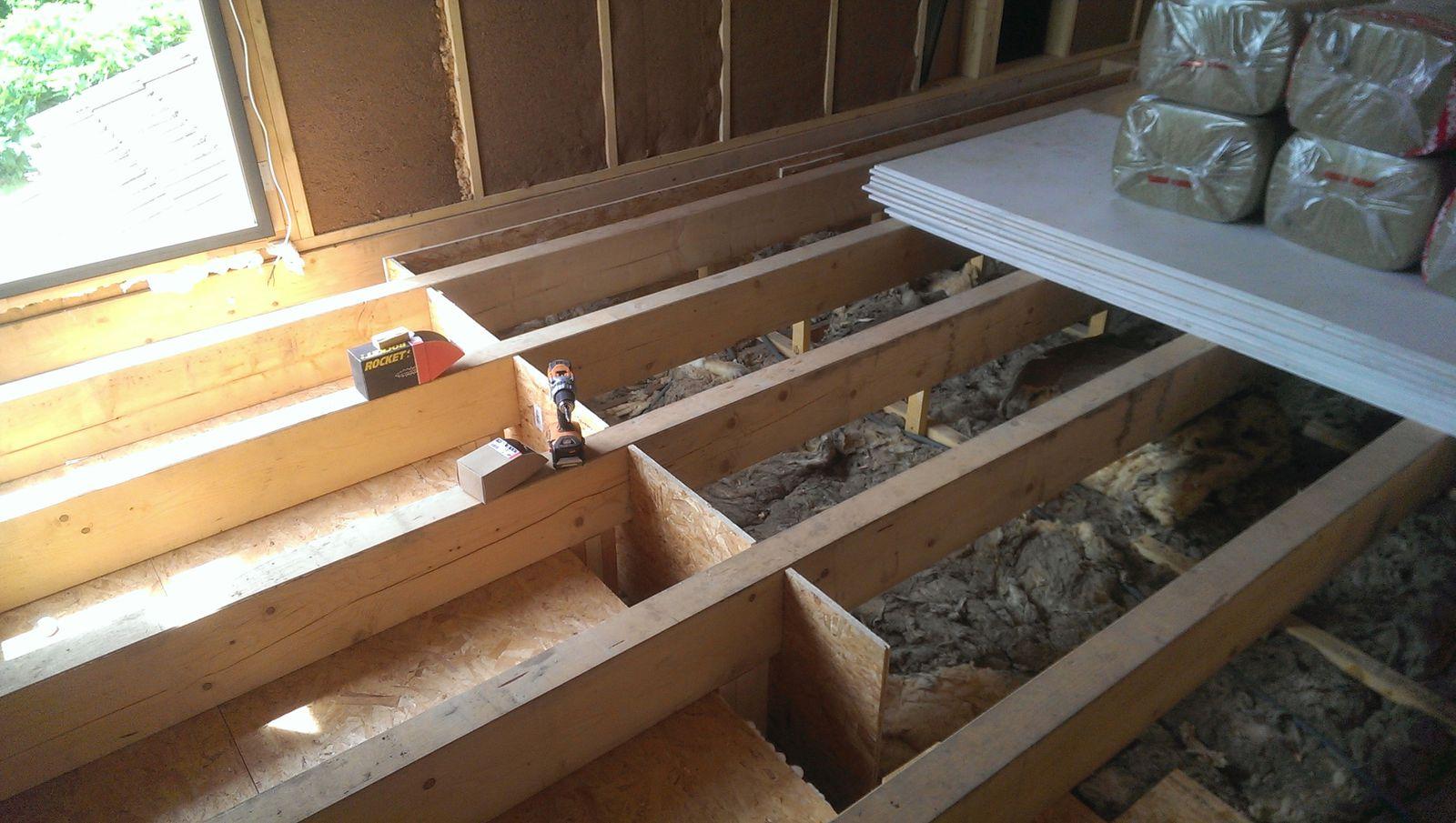 Sur l vation en autoconstruction agrandissement d 39 une for Isolation d un plancher