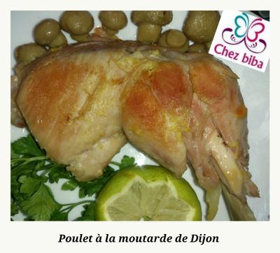 Poulet à la moutarde de Dijon
