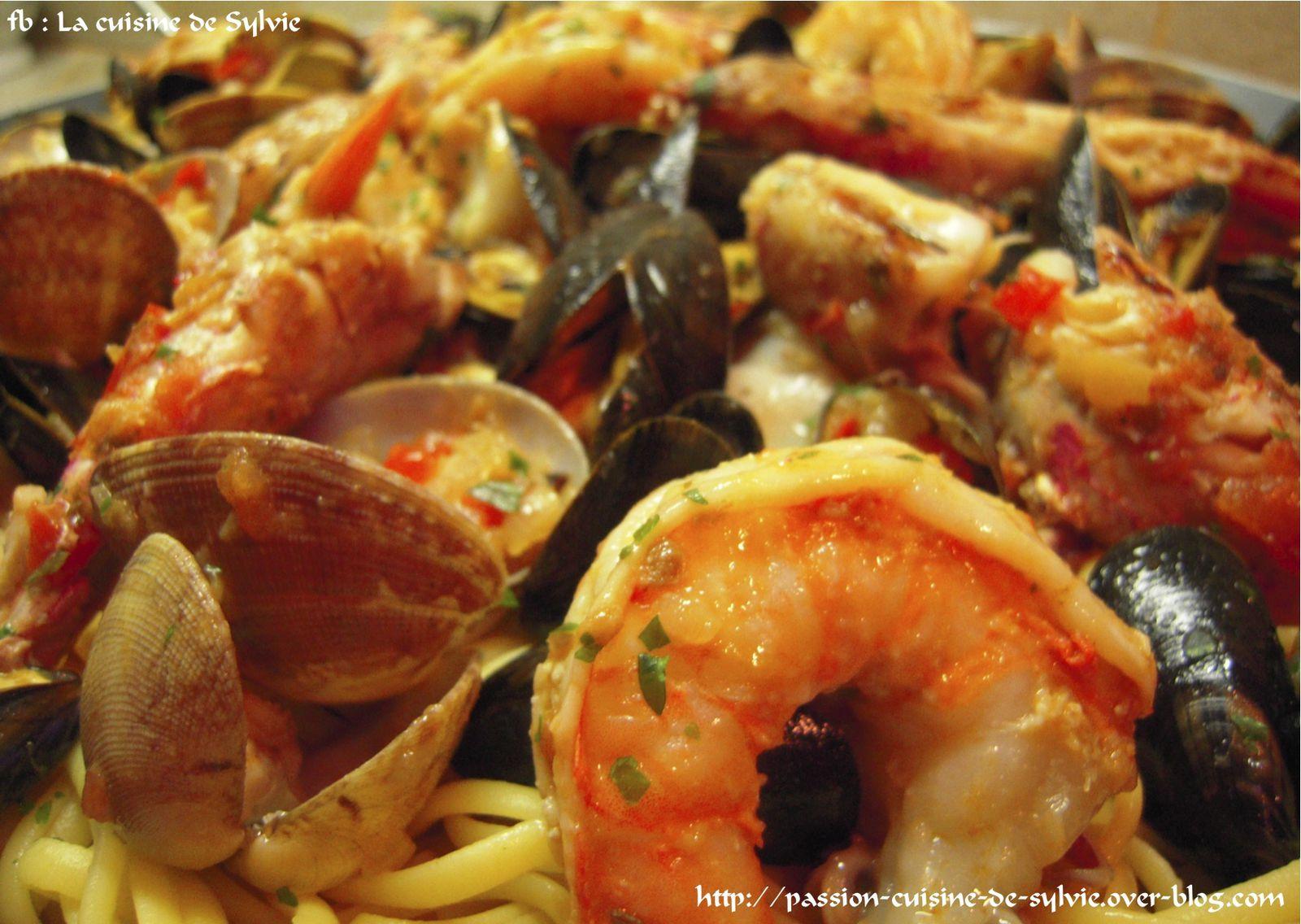 Pâtes de l'Amiral - Recette du Chef Bernard Coloma